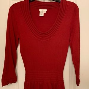 Sophie Max size Small Sweater Dress